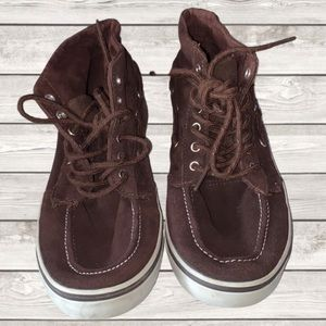 Cherokee Expresso High Top Boat Shoes, Boys 4